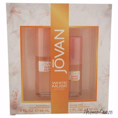 Jovan White Musk Gift Set for Women 2 pc