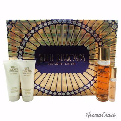 Elizabeth Taylor White Diamonds Gift Set for Women 4 pc