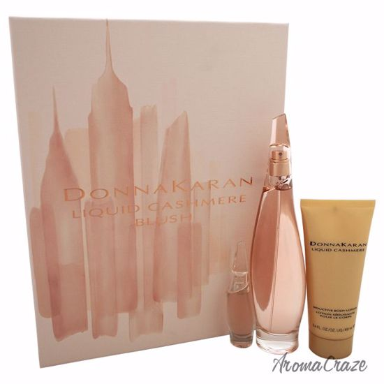 Donna Karan Liquid Cashmere Blush Gift Set for Women 3 pc