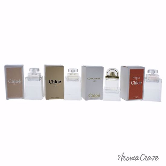 Parfums Chloe Variety Gift Set For Women 4 Pc Aromacrazecom