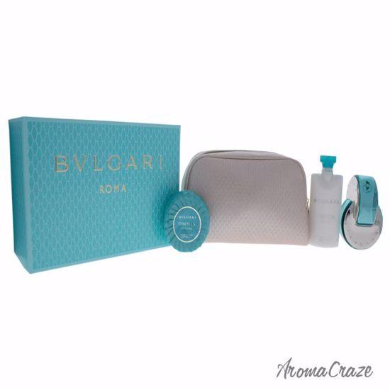 Bvlgari Omnia Paraiba Gift Set for Women 4 pc