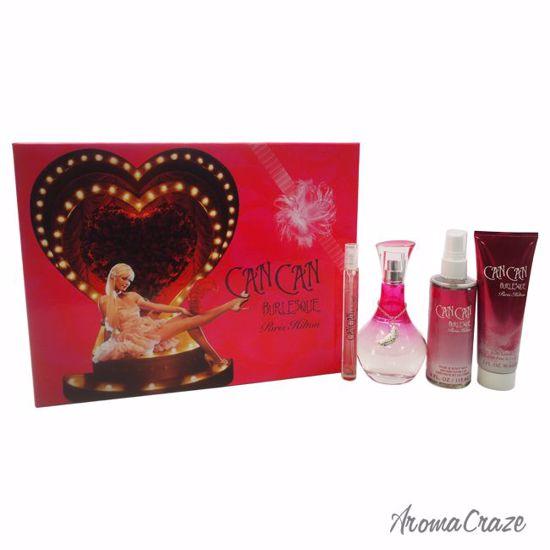 Can by Paris Hilton Burlesque Gift Set for Women 4 pc