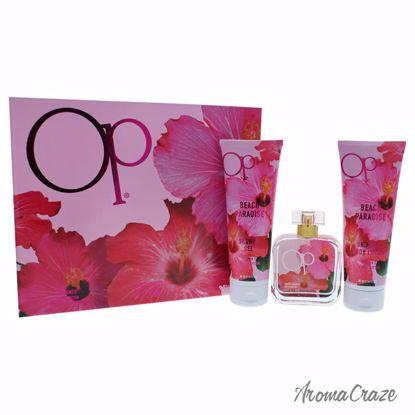 Ocean Pacific Op Beach Paradise Gift Set for Women 3 pc