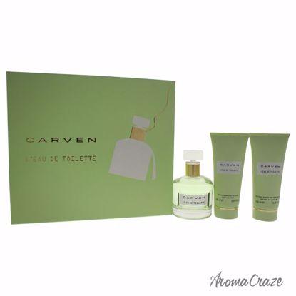 Carven L'Eau De TOilette Gift Set for Women 3 pc