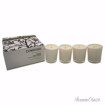 Cowshed Grumpy Cow Uplifting Travel Candle Unisex 4 x 1.34 oz - Scented Candles | Best Scented Candles | Scented Candles in Bulk | Best Smelling Candles | Luxury Candles | Christmas Scented Candles | AromaCraze.com
