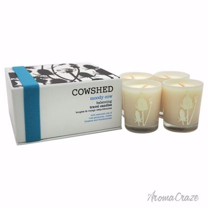 Cowshed Moody Cow Balancing Travel Candle Unisex 4 x 1.34 oz - Scented Candles | Best Scented Candles | Scented Candles in Bulk | Best Smelling Candles | Luxury Candles | Christmas Scented Candles | AromaCraze.com