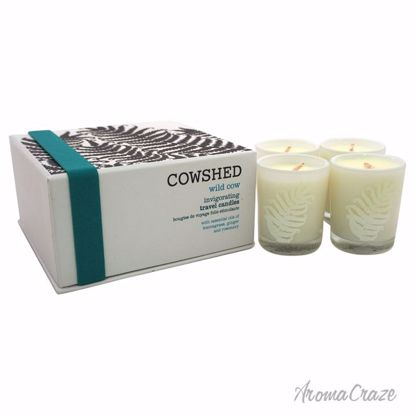 Cowshed Wild Cow Invigorating Travel Candle Unisex 4 x 1.34 oz - Scented Candles | Best Scented Candles | Scented Candles in Bulk | Best Smelling Candles | Luxury Candles | Christmas Scented Candles | AromaCraze.com