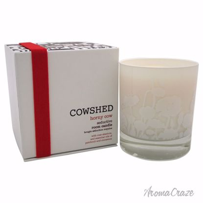 Cowshed Horny Cow Seductive Room Candle for Women 8.28 oz - Scented Candles | Best Scented Candles | Scented Candles in Bulk | Best Smelling Candles | Luxury Candles | Christmas Scented Candles | AromaCraze.com