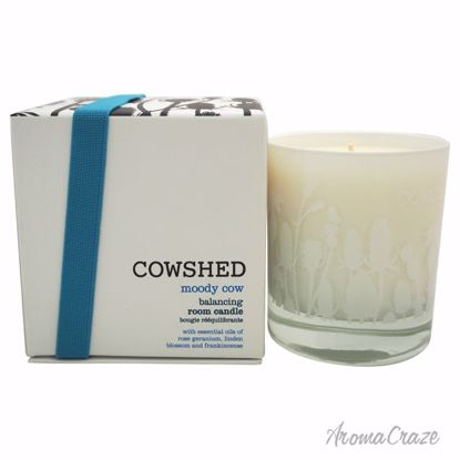 Cowshed Moody Cow Balancing Room Candle Unisex 8.11 oz - Scented Candles | Best Scented Candles | Scented Candles in Bulk | Best Smelling Candles | Luxury Candles | Christmas Scented Candles | AromaCraze.com