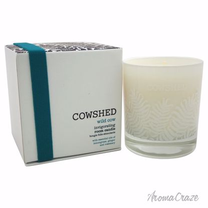Cowshed Wild Cow Invigorating Room Candle Unisex 8.11 oz - Scented Candles | Best Scented Candles | Scented Candles in Bulk | Best Smelling Candles | Luxury Candles | Christmas Scented Candles | AromaCraze.com