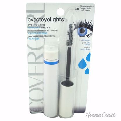 CoverGirl Exact Eyelights Waterproof Mascara # 735 Black Sap