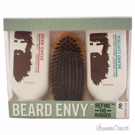 Billy Jealousy Beard Envy Kit 3oz Beard Wash, 3oz Beard Cont