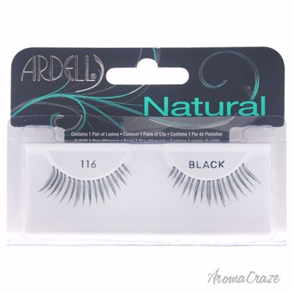 Ardell Natural Lashes # 116 Black Eyelashes for Women 1 Pair - Eye Makeup | Eye Makeup Kit | Eye Shadow | Eye liner | Eye Mascara | Eye Cosmetics Products | Eye Makeup For Big Eyes | Buy Eye Makeup Online | AromaCraze.com