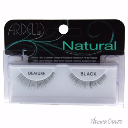 Ardell Natural Demure Black Eyelashes for Women 1 Pair - Eye Makeup | Eye Makeup Kit | Eye Shadow | Eye liner | Eye Mascara | Eye Cosmetics Products | Eye Makeup For Big Eyes | Buy Eye Makeup Online | AromaCraze.com
