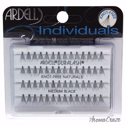 Ardell DuraLash Individuals Naturals Lashes Set Medium Black Eyelashes for Women 56 Pc - Eye Makeup | Eye Makeup Kit | Eye Shadow | Eye liner | Eye Mascara | Eye Cosmetics Products | Eye Makeup For Big Eyes | Buy Eye Makeup Online | AromaCraze.com