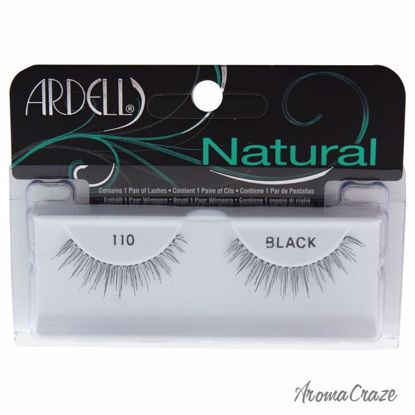 Ardell Natural # 110 Black Eyelashes for Women 1 Pair - Eye Makeup | Eye Makeup Kit | Eye Shadow | Eye liner | Eye Mascara | Eye Cosmetics Products | Eye Makeup For Big Eyes | Buy Eye Makeup Online | AromaCraze.com