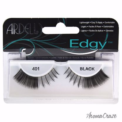 Ardell Edgy Lashes # 401 Black Eyelashes for Women 1 Pair - Eye Makeup | Eye Makeup Kit | Eye Shadow | Eye liner | Eye Mascara | Eye Cosmetics Products | Eye Makeup For Big Eyes | Buy Eye Makeup Online | AromaCraze.com