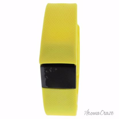 Eclock EK-H3 Health Sports Yellow Silicone Bracelet Unisex 1