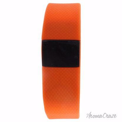 Eclock EK-H2 Health Sports Orange Silicone Bracelet Unisex 1