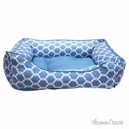 Pet Maison Quartre FOil Cuddler Pet Bed Unisex 27 x 21 x 10