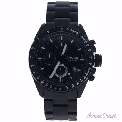 Fossil CH2601P Decker Chronograph Black Stainless Steel Watc