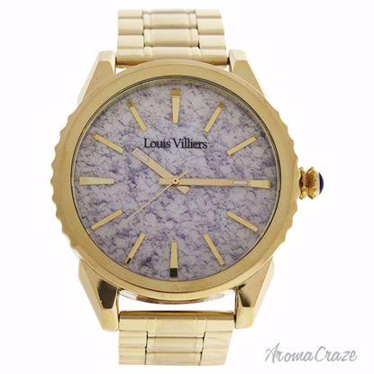 Louis Villiers LV2063 Gold Stainless Steel Bracelet Watch fo