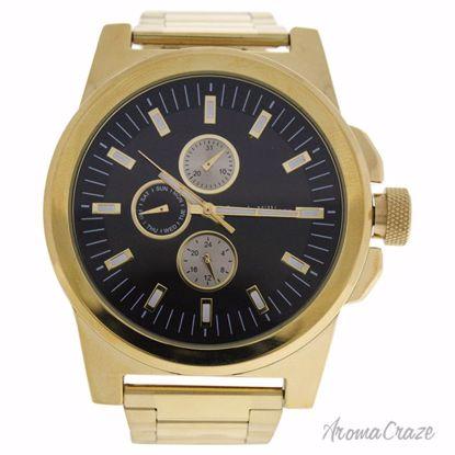 Louis Villiers LVAG3733-13 Gold Stainless Steel Bracelet Wat
