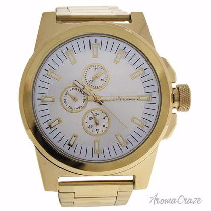 Louis Villiers LVAG3733-17 Gold Stainless Steel Bracelet Wat