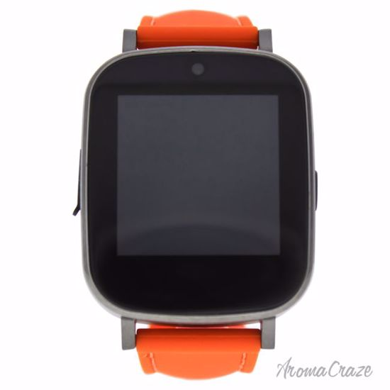 Eclock EK-G4 Montre Connectee Orange Silicone Strap Smart Watch for Men 1 Pc - Mens Luxury Watches | Watches For Men on Sale | Analog Watches For Men | Affordable Luxury Watches | Popular Mens Watches | AromaCraze.com