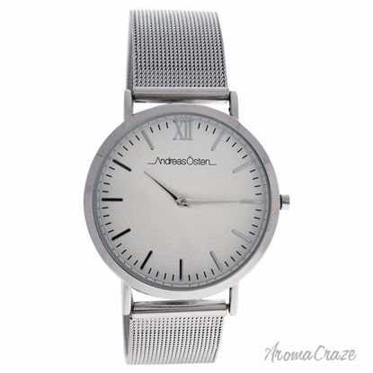 Andreas Osten AO-131 Distrig Silver Stainless Steel Mesh Bracelet Watch Unisex 1 Pc - Best Unisex Watches | Unisex Watches on Sale | Watches For Men and Women | Affordable Luxury Watches | AromaCraze.com