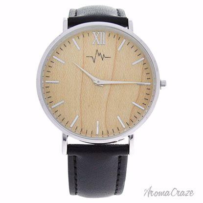 Andreas Osten AO-171 Hygge Silver/Black Leather Strap Watch Unisex 1 Pc - Best Unisex Watches | Unisex Watches on Sale | Watches For Men and Women | Affordable Luxury Watches | AromaCraze.com