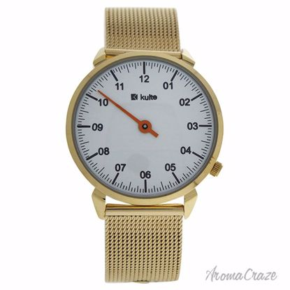 Kulte KU15-0008 Gold Stainless Steel Mesh Bracelet Watch Uni