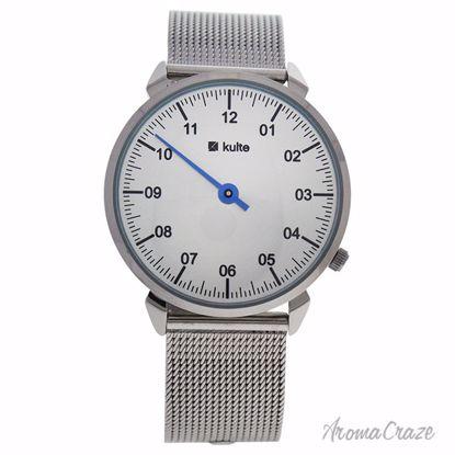 Kulte KU15-0011 Silver Stainless Steel Mesh Bracelet Watch U