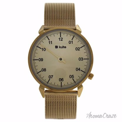 Kulte KUT8A Gold/Gold Stainless Steel Mesh Bracelet Watch Un