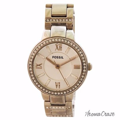 Fossil ES3282P Virginia Stainless Steel Watch for Women 1 Pc