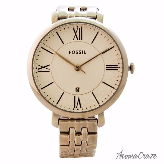 f5dbab565 Fossil ES3433P Jacqueline Stainless Steel Watch for Women 1 Pc ...