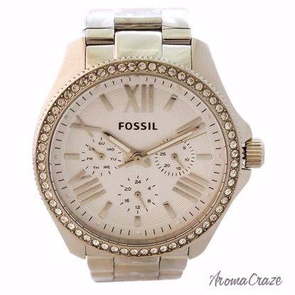 Fossil AM4481P Cecile Multifunction Stainless Steel Watch fo