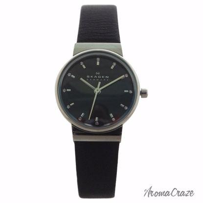 Skagen SKW2193 Ancher Black Leather Strap Watch for Women 1