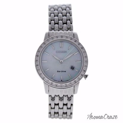 Citizen EW2280-58D Eco-Drive Diamond Accent Stainless Steel
