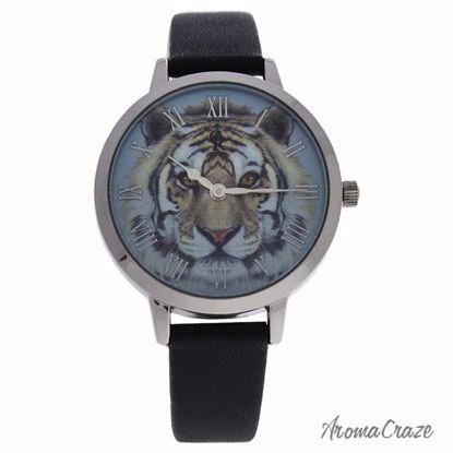 Charlotte Raffaelli CRA016 La Animale Silver/Black Leather S