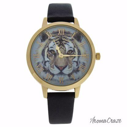 Charlotte Raffaelli CRA017 La Animale Gold/Black Leather Str