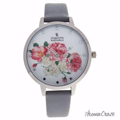 Charlotte Raffaelli CRF001 La Florale Silver/Grey Leather St