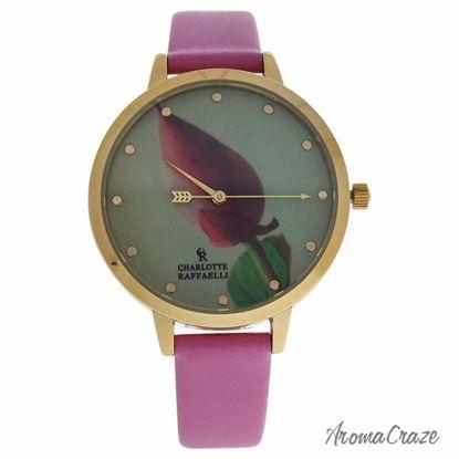 Charlotte Raffaelli CRF005 La Florale Gold/Rose Leather Stra