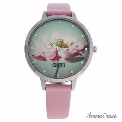 Charlotte Raffaelli CRF007 La Florale Silver/Rose Leather St