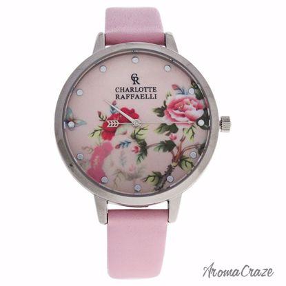 Charlotte Raffaelli CRF029 La Florale Silver/Pink Leather St