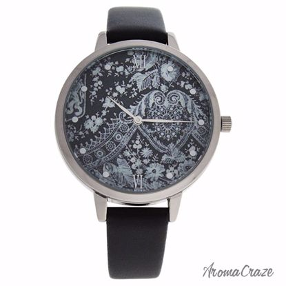 Charlotte Raffaelli CRR001 La Romance Silver/Black Leather S