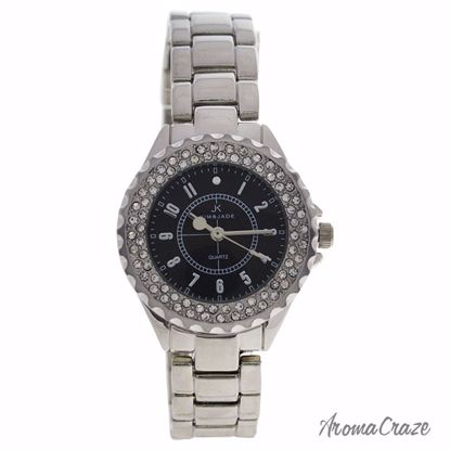 Kim & Jade 2033L-SB Silver Stainless Steel Bracelet Watch fo
