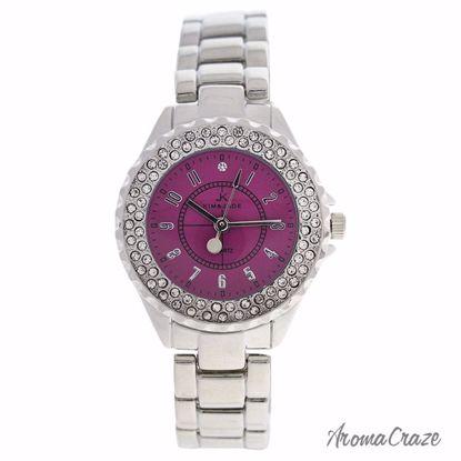 Kim & Jade 2033L-SP Silver Stainless Steel Bracelet Watch fo