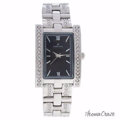 Kim & Jade 2060L-SB Silver Stainless Steel Bracelet Watch fo