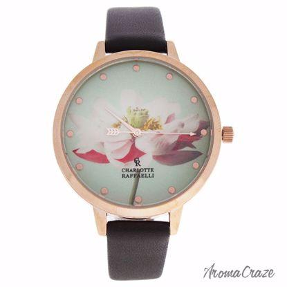 Charlotte Raffaelli CRF009 La Florale Rose Gold/Brown Leathe